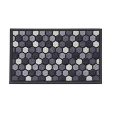 Grey And White Kitchen Rugs Grays Kitchen Rugs Mats Mats The Home Depot