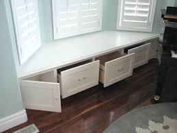 Window Bench Seat With Storage Under Window Bench Seat Storage Diy Under Window Bench With