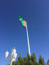 Flag Of Turkmenistan Turkmenistan Giant Flagpoles Enti Muhendislik