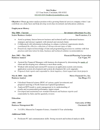 Sample Of Business Analyst Resume by Essays Moral Political And Literary Resume Format Of Business