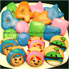 team umizoomi cookies team umizoomi birthday cookie glam