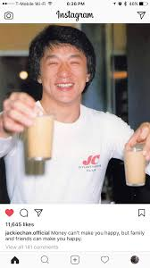 Jackie Chan Meme Pic - jackie chan s instagram account 100 wholesome 100 of the time