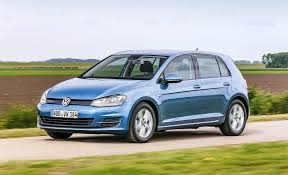 green volkswagen golf vw golf bluemotion tsi first drive car march 2016 by car magazine