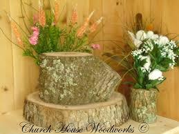 Rustic Wedding Decoration Rustic Wedding Centerpieces Tree Branch Flower Holders Wooden Vases