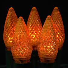 orange and led christmas lights novelty lights inc