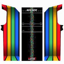 classic arcade cabinet u2013 colorlines u2013 my arcade machine