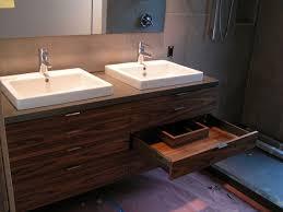 Contemporary Bathroom Vanities With Tops And Sinks Great Floating - Bathroom vanity double sink tops