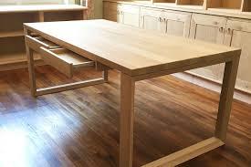 plateau de bureau en bois fabrication bureau bois sur mesure avec laboutiquedubois com