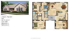 Continental Homes Floor Plans Modular Home Ranch Plan 425 2 Jpg