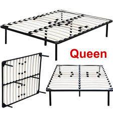 Slatted Bed Base Queen Queen Bed Slats Ebay