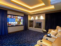 simple home theater contemporary home theater design house design