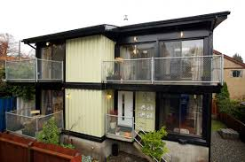 modern container homes in unique shipping containers house hominic