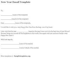email template for new year format of new year email template