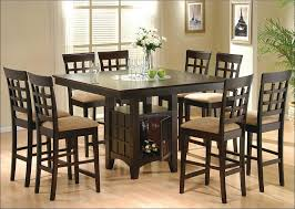 Kitchen  Counter Height Kitchen Table White Kitchen Table Round - Bar height dining table walmart