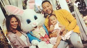 hoppy easter 12 celeb kids who met the easter bunny