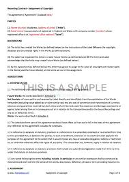 artist contract agreement form artist agreement contract sample