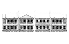 carolina commons townhouse b1 house plan 06444 b1 design from