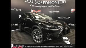 black 2018 lexus nx 300 luxury package walkaround review south
