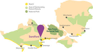 Dorset England Map by Touring U0026 Camping At Sandford Holiday Park In Dorset Parkdean