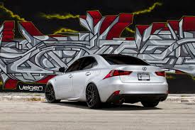 2015 red lexus is 250 lexus is250 f sport velgen wheels vmb5 gloss black 19x9