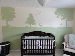 Outdoor Themed Baby Room - deer bedding for a forest or hunting baby nursery theme