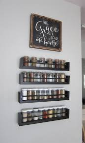 Spice Rack Organizer Kitchen Wall Spice Rack Small Changes Big Impact