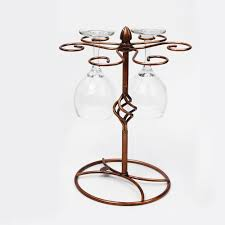 Home Bar by Best Vintage Bronze Red Wine Glass Hanger Wine Glass Holder For