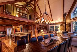 barn house barn house loft moose ridge lodge home building plans 44345