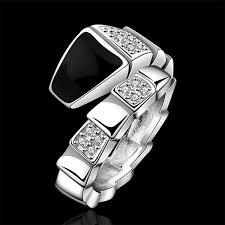 cool rings design images Silver stamp new design finger ring for women men cool snake jpg
