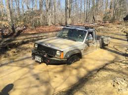muddy jeep girls pickup pride reddit user gets a comanche back on its muddy feet
