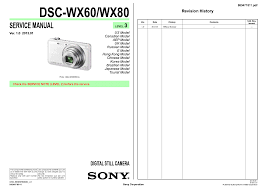 sony dsc wx80 level 3 sm service manual download schematics