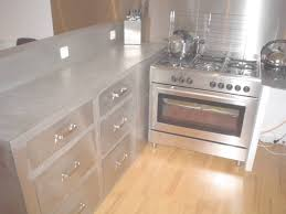 meuble cuisine inox brossé coin de la maison