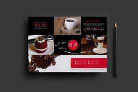 menu flyer template a5 cafe flyer template for photoshop illustrator brandpacks