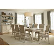 ashley furniture demarlos butterfly extension dining table set in