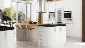 linear satin white our kitchens mackintosh kitchens
