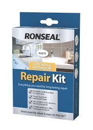 B Q Kitchen Design Service by Ronseal White Repair Kit 60 G Departments Diy At B U0026q