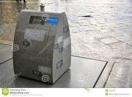 modern trash can editorial image image 17063720