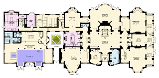 floor plans of mansions large mansion floor plans ideas the