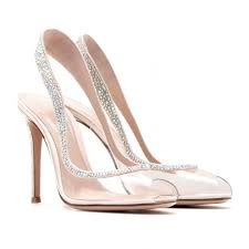 shoeniverse cinderella shoes gianvito rossi embellished