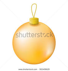 gold tree realistic vector stock vector 502406629