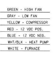 coleman mach 9630 3361 thermostat single stage heat pump digital