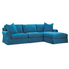 slipcovered sectionals luxe home company