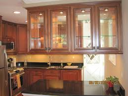 Glass Design For Kitchen Cabinets Kitchen Cabinets With Glass Doors Delightful Stylish Home