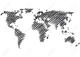 Outline World Map by World Map Royalty Free Cliparts Vectors And Stock Illustration