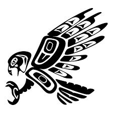 tattoo of haida eagle fierceness leadership tattoo custom