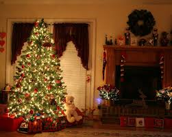 Decorated Christmas Trees Houzz by Wallpaper Christmas Tree Decoration Idolza