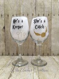 his hers wine glasses 25 best wine glass ideas on wine glass sayings