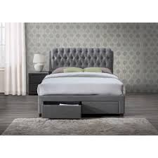 Grey Bed Frame Buy Birlea Valentino Grey Bed Frame Big Warehouse Sale