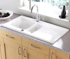 undermount ceramic kitchen sink ceramic kitchen sinks bloomingcactus me