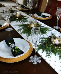 simple christmas table settings christmas dinner decorations pictures home furniture design